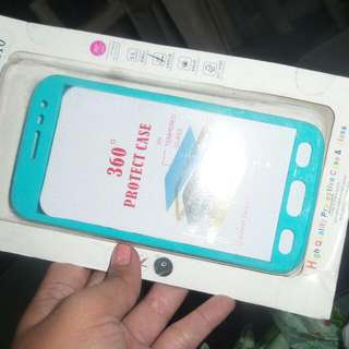 Samsung J2 360 case woth tempered glass