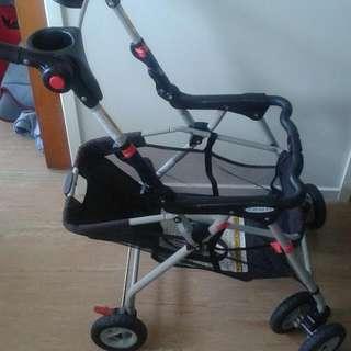 Click & Go Pram for a Baby Capsule