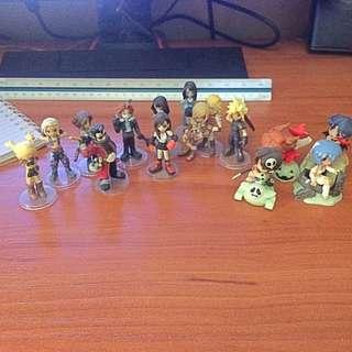 Final Fantasy Mini Figurines
