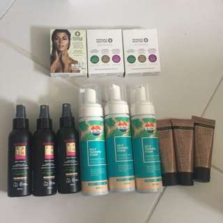 NEW Self Tanning Products Australis Le Tan St. Tropez Manuka Doctor