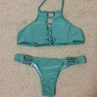 Bikini Top And Bottom (Size small)
