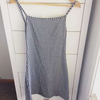 Checkered Dress - Glassons