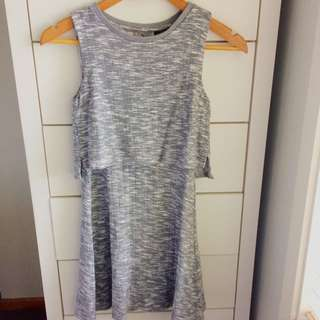 Top Shop Petite Grey Dresa