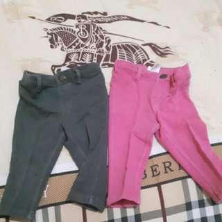 2 pcs celana legging