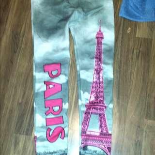 Kids PARIS Lined Leggings
