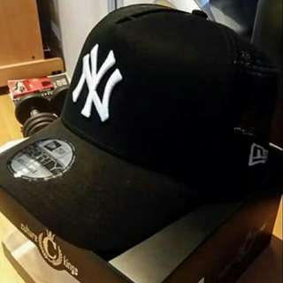 New Era FortyNinety A Frame Yankees Trucker Hat From Culture Kingd