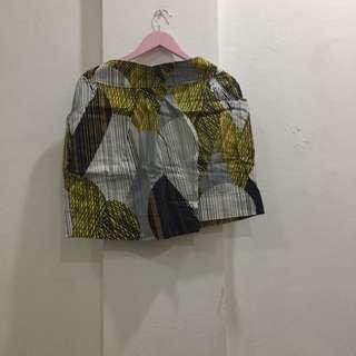 Plain And Prints Tulip Skirt