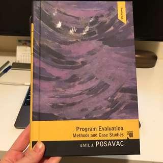 Program Evaluation 8th Edition By Posavac