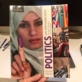 Politics An Introduction 2nd Edition