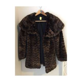 Guess faux Fur Cost