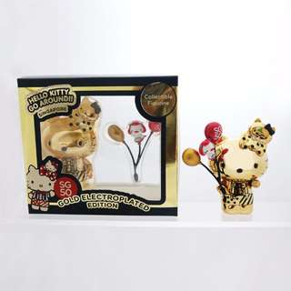 (Reserved) SG50 Hello Kitty Gold plated Figure