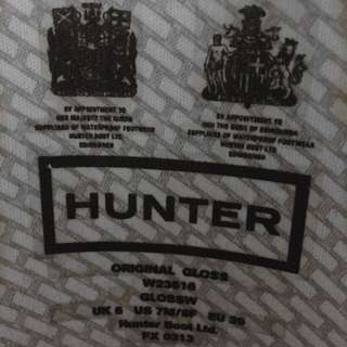 Size 8W Hunter Boots (+more)