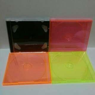 【雜物】單片  CD盒 黑