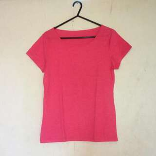 Simple Pink T Shirt