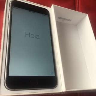 lphone6  plus   16G   黑色 有合裝 ,無配件Touch ic is broken