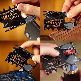Wallet Ninja銀包忍者工具卡
