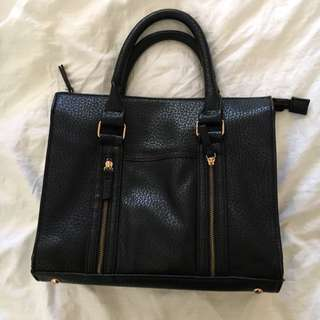Soft Faux Leather Tote Bag