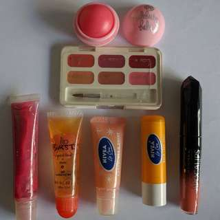 Assorted Lip products