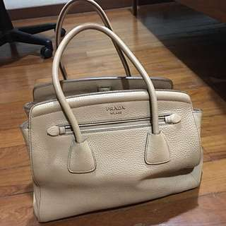 PRADA Tan Bag