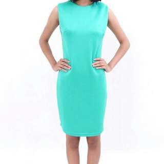 Greeny Slim Body Dress