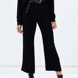 Never Worn - Lulu And Rose Cropped Flared Pants (never Worn)
