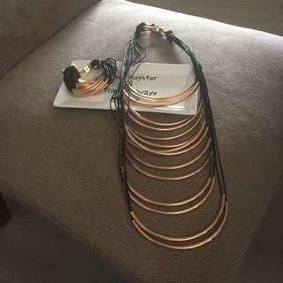 Kooki Necklace And Bracket Set
