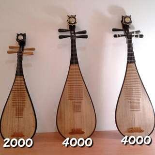 古典二手琵琶(附盒子)