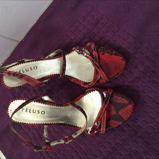 Pelusu Shoes Size 8