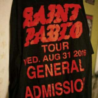 OFFICIAL KANYE WEST PABLO MERCH LONG SLEEVE SHIRT TORONTO, ON