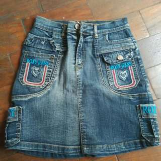 Roxy Jeans Skirt