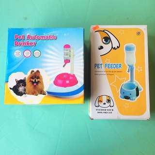 Pet Feeder & Pet Automatic Drinker