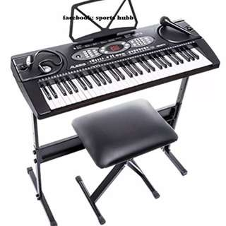 Alesis Melody 61 Beginner Bundle | 61-Key Portable Keyboard