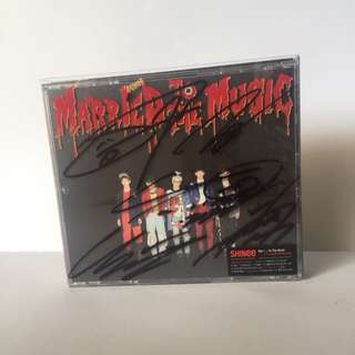 [SIGNED] SHINEE 'MARRIED TO THE MUSIC' The 4th Original Album