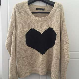 Heart Knit Jumper