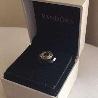 Pandora Black Murano Glass Charm