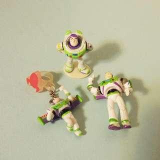 迪士尼 玩具總動員 巴斯 公仔 扭蛋 吊飾