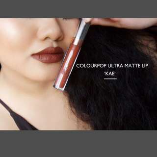 💄Ultra matte lip stick💋 - Kae colourpop