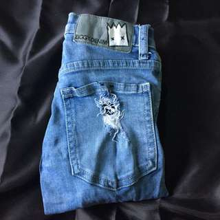 Ziggy Ripped Denim Jeans