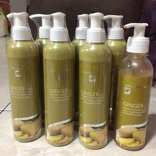 Nutrimetics Ginger Plus Virgin Coconut Oil Hair Shampoo
