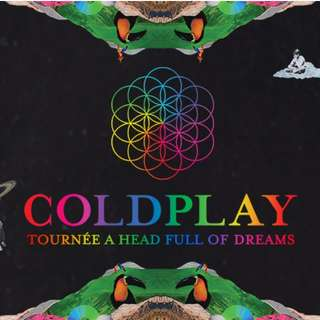 Coldplay Ticket 31 March Singapore Standing Pen A