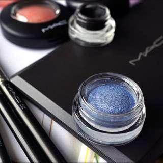 MAC Soft Serve Shadow in Big Bad Blue