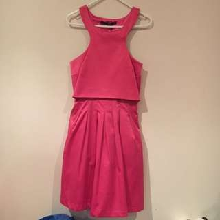 Satin Size 8 Dress