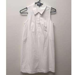 CUE white shirt dress SIZE 6 RRP $235