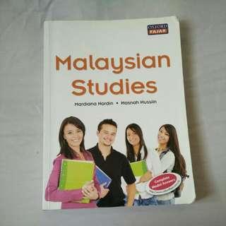 Malaysian Studies Textbook