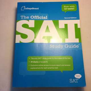 Official SAT Study Guide by Collegeboard