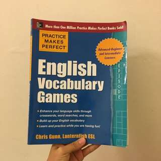 English Vocabulary Games