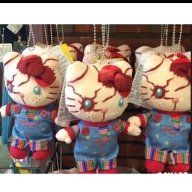 日本2016環球影城USJ萬聖節限定鬼娃娃恰吉娃娃吊飾別針珠鍊吊飾鑰匙圈(大)現貨