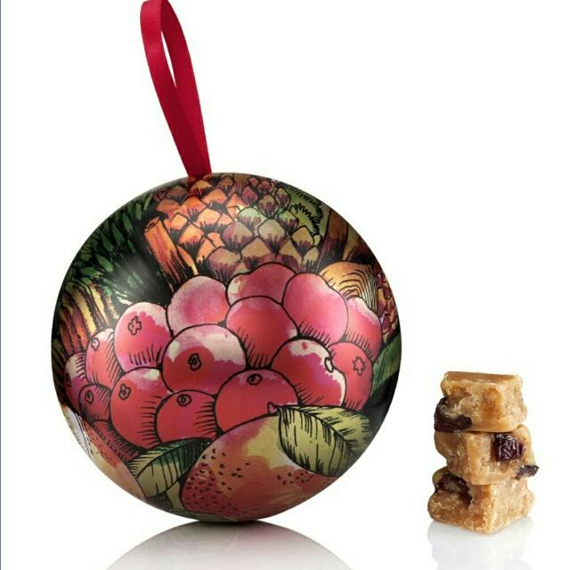 (買2送1) 英國限定 Crabtree Evelyn Large Bauble with Handmade Cranberry & Clementine Fudge 150g