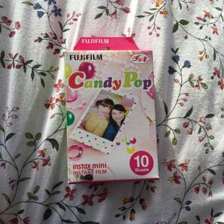 Fujifilm Instax Mini Camera Film - Candy pop 10pack