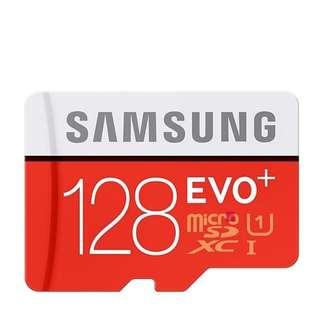 Samsung 128GB Evo Plus Class 10 With Adapter